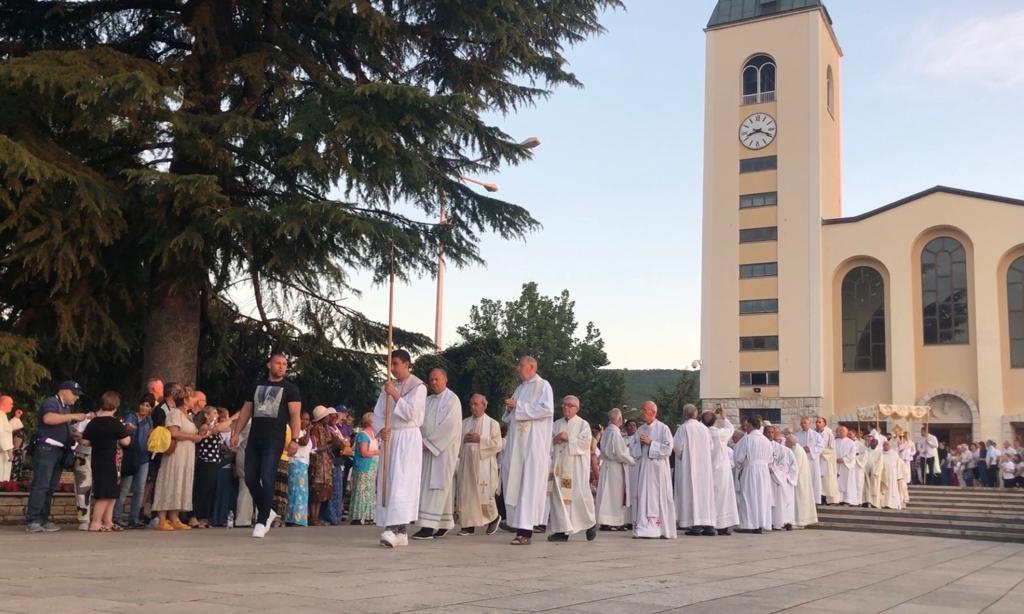 Medjugorje procession